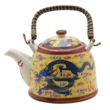 1 Tea Pot - Blue Dragon