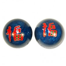 "1.75"" Health Ball/Taichi - Fu Character"