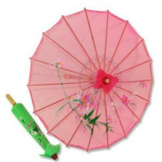 "Nylon Parasol - Assorted Color (22"" D; 15"" H)"