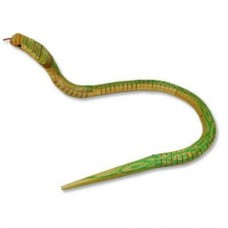"23.5"" Wooden Toy Cobra Snake"