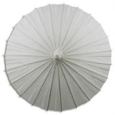 White - Paper Parasol