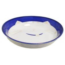 "Blue Cat 4"" Sauce Dish"