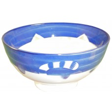 "Blue Cat 5"" Bowl"