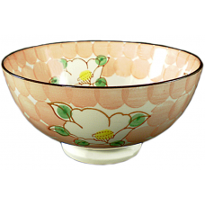 "Flower - 6"" Bowl - Red"