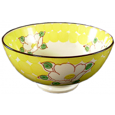 "Flower - 6"" Bowl - Yellow"