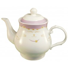 Purple Cat 30 Oz Tea Pot