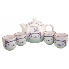 16oz Tea Pot; (4) 2oz Cups