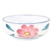 "4"" Dish with Pink Flower Design"