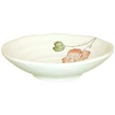 """4.5"""" Round Dish - Pink Flower Design"""