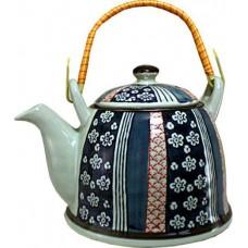 1 Tea Pot with Bamboo Handle (Tea Set)