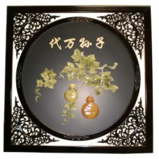 "34"" x 34"" Oriental Wall Ornament"