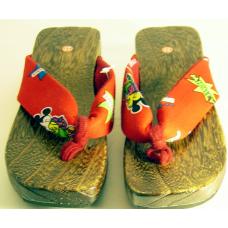Wooden Slippers - Children