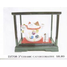 """3"""" Ceramic Cat-Decorative"""