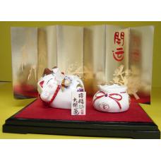 Decor Ceramic Cat & Resin
