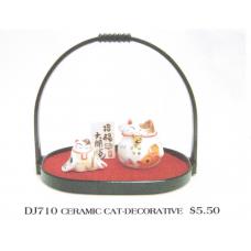 Ceramic Cat - Decorative