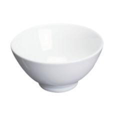 "White Porcelain Bowl 4.62"" D x 2.25"" H"