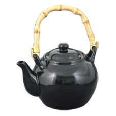 34 fl. oz. Black Tea Pot w/Bamboo Handle