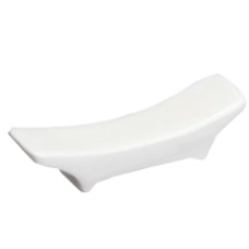 "2.5"" L White Chopstick Rest"