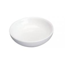 """3.25""""D White Porcelain Sauce Dish"""