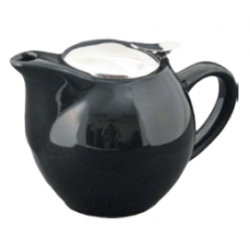 24 fl. oz. Black Tea Pot with Stain-Resistant Lid