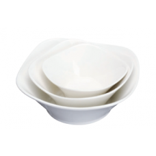 "4.5"" x 1.75""H White Porcelain Bowl"
