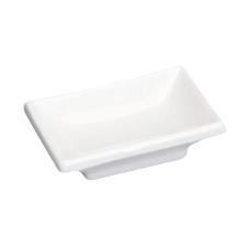 "3"" x 2"" Sauce Dish White Porcelain"