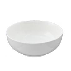 "White Porcelain Bowl 8"" D x 3.75"" H"