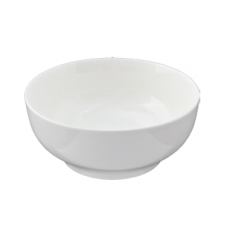 "White Porcelain Bowl 7"" D x 3.25"" H"