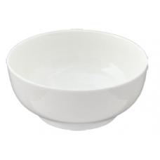 "White Porcelain Bowl 6"" D x 2.75"" H"