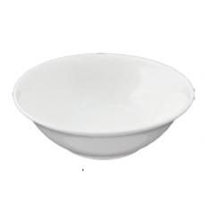"7""D x 2.25""H White Porcelain Bowl"