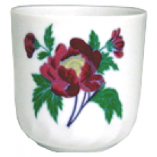 4oz Cup - Red Flower