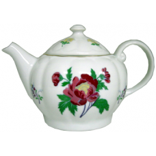 36oz Pot - Red Flower
