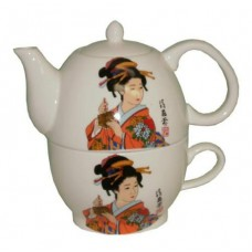 One 12oz Tea Pot with One 8oz Cup