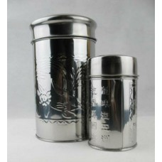 "5"" H x 2 3/4"" D Tea Caddy"