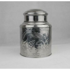 "10"" H x 7 1/8"" D Tea Caddy"