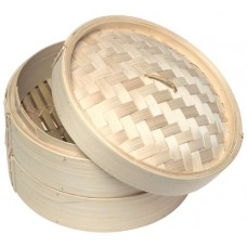 "2-Layer 7"" Bamboo Steamer"
