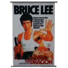"23"" x 35 1/2"" Photo Canvas - Bruce Lee"