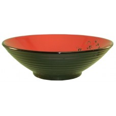"16"" Bowl -Black and Red"
