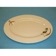 "9"" Oval Plate"