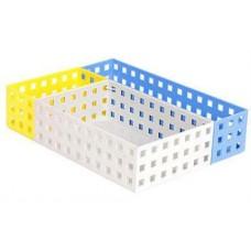 3pc Plastic Basket Set