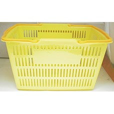 "17"" x 12"" x 10"" Yellow Basket"