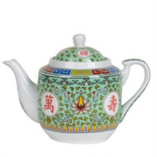 36oz Longevity Tea Pot - Green
