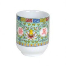 6oz Longevity Tea Cup - Green