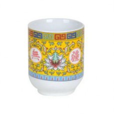 6oz Longevity Tea Cup - Yellow