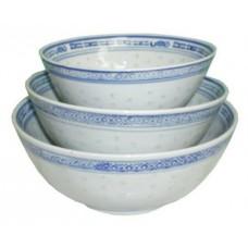 """6"""" Bowl - Rice Pattern Set"""