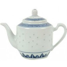 30oz (900cc) Tea Pot - Rice Pattern Set
