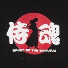 XXL Kanji T-Shirt - Samurai Spirit