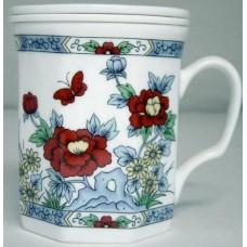 10oz Tea Cup w/Lid & Filter
