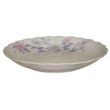 """6"""" Plate with Flower Design"""