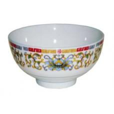 """4.5"""" Rice Bowl - Lotus Pattern"""